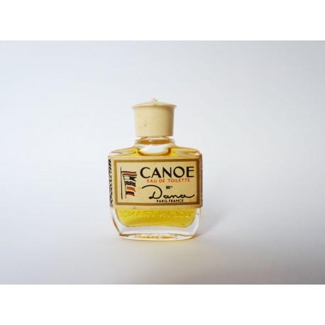 Ancienne miniature de parfum Canoé de Dana
