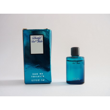 Miniature de parfum Cool Water de Davidoff