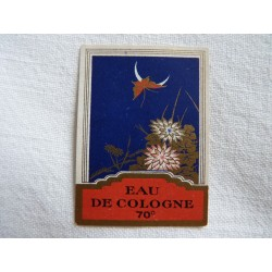 Etiquette Eau de Cologne 70°
