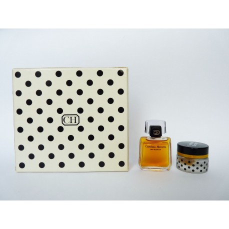 Coffret de 2 miniatures Carolina Herrera