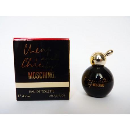 Miniature de parfum Cheap and Chic de Moschino