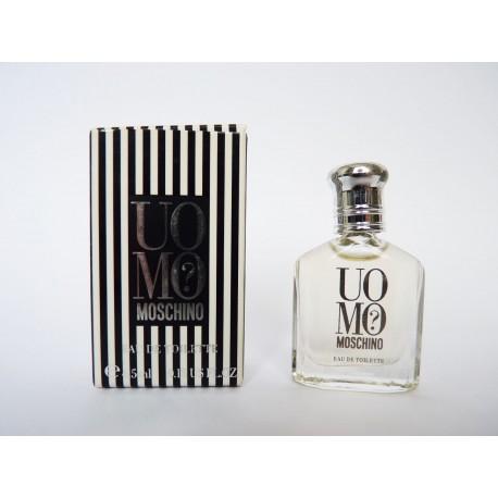 Miniature de parfum Uomo? de Moschino