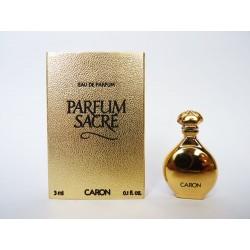 Miniature Parfum Sacré de Caron