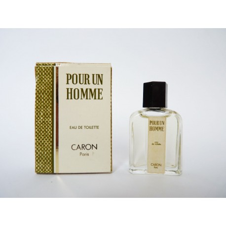 Miniature de parfum Pour un Homme de Caron