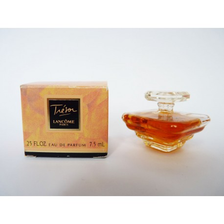 Miniature de parfum Trésor de Lancôme