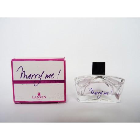Miniature de parfum Marry me ! de Lanvin