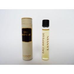 Ancien échantillon de parfum Eau Arpège de Lanvin