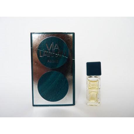 Miniature de parfum Via Lanvin