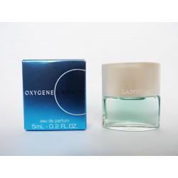 Miniature de parfum Oxygène de Lanvin