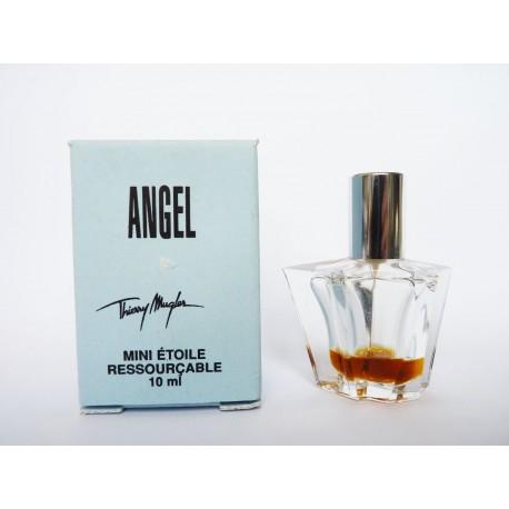 Miniature de parfum Angel de Thierry Mugler - étoile  ressourcable