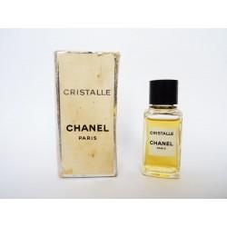 Ancienne miniature de parfum Cristalle de Chanel