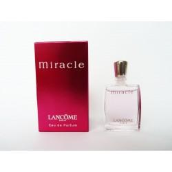 Miniature de parfum Miracle de Lancôme