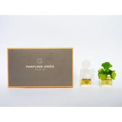 Coffret de 2 miniatures de parfum Grès