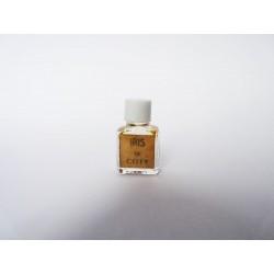 Ancienne miniature de parfum Iris de Coty