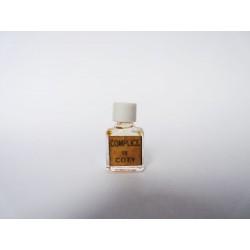 Ancienne miniature de parfum Complice de Coty