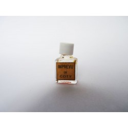 Ancienne miniature de parfum Imprévu de Coty