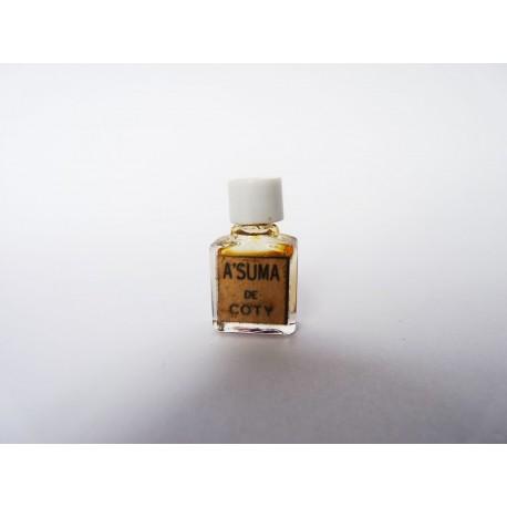 Ancienne miniature de parfum A'Suma de Coty
