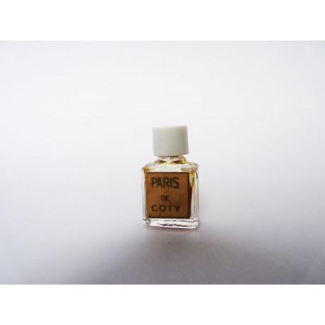 Ancienne miniature de parfum Paris de Coty