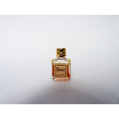 Ancienne miniature de parfum L'Aimant de Coty
