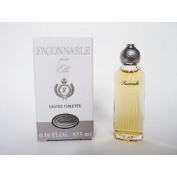 Miniature de parfum Façonnable pour Elle