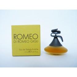 Miniature de parfum Romeo de Romeo Gigli