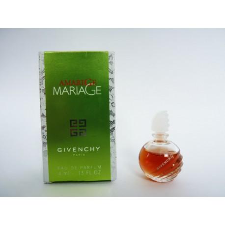 Miniature de parfum Amarige Mariage de Givenchy