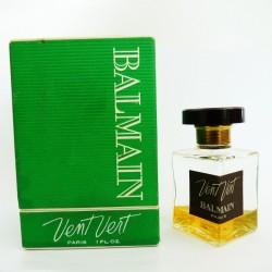 Ancien flacon de parfum Vent Vert de Balmain