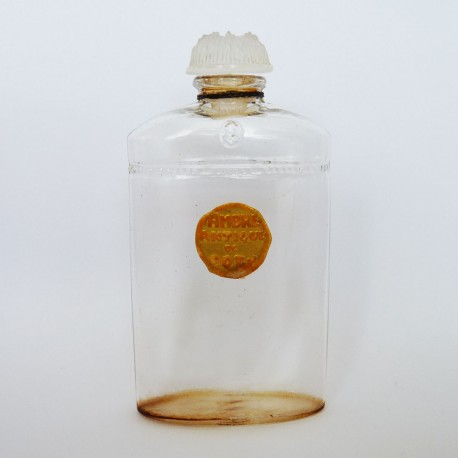 Ancien flacon de parfum Ambre Antique de Coty