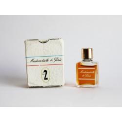 Ancienne miniature de parfum Mademoiselle de Paris de Lancaster