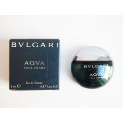 Miniature de parfum Aqua Pour Homme de Bulgari