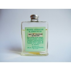 Ancien flacon recharge Eau de Cologne Extra-Dry de Guerlain