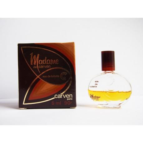 Miniature de parfum Madame de Carven