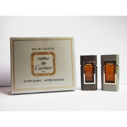 Coffret de miniatures de parfum Santos de Cartier