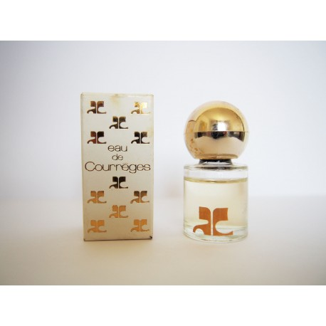 Miniature de parfum Eau de Courrèges