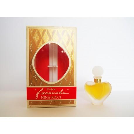 Miniature de parfum Farouche de Nina Ricci
