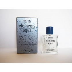 Miniature de parfum Elements Aqua de Hugo Boss