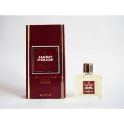 Miniature de parfum Habit Rouge de Guerlain