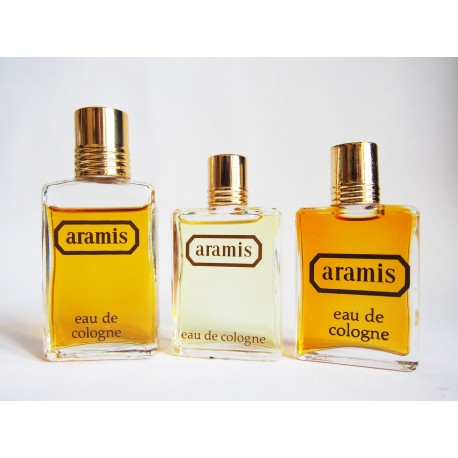 Lot de 3 miniatures de parfum Aramis