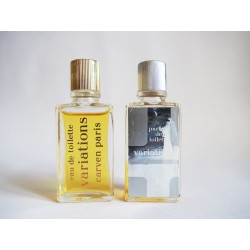 Lot de 2 miniatures de parfum Variations de Carven
