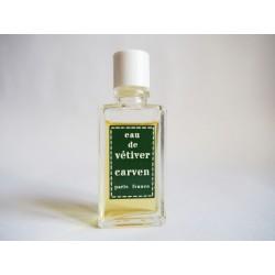 Miniature de parfum Eau de Vetyver de Carven