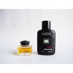 Lot de 2 miniatures de parfum Septième Sens de Sonia Rykiel