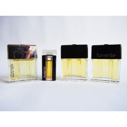Lot de 4 miniatures de parfum Torrente