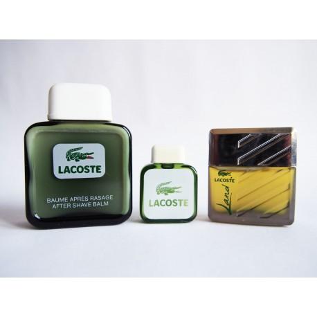 Lot de 3 miniatures de parfum Lacoste