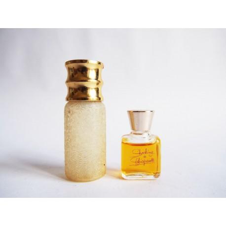 Lot de 2 anciennes miniatures de parfum Schiaparelli