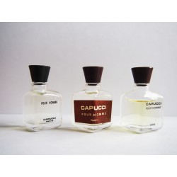 Lot de 3 miniatures de parfum Capucci pour Homme de Capucci