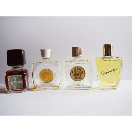 Lot de 4 miniatures de parfum Atkinsons