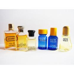 Lot de 6 miniatures de parfum Aramis
