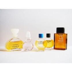 Lot de 5 miniatures de parfum Azzaro