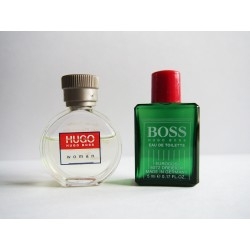 Lot de 2 miniatures Hugo Boss