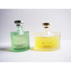 Lot de 2 miniatures de parfum Bulgari